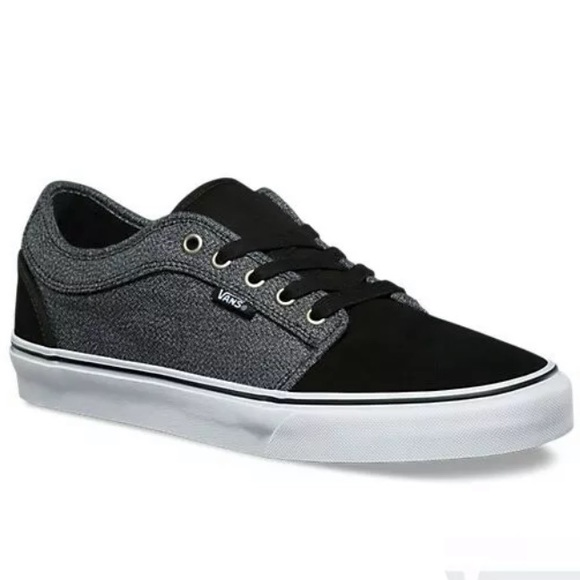 Vans chukka low suiting black gray sneaker shoes NWT